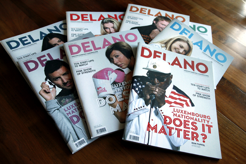 DELANO MAGAZINE – COVERS