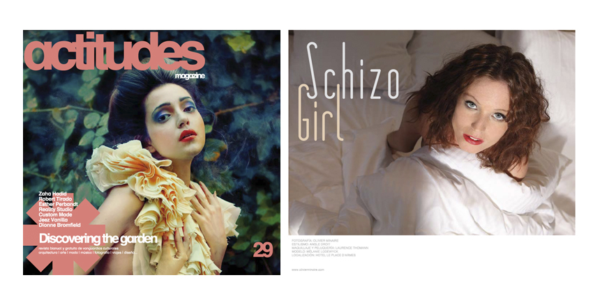 ACTITUDES MAGAZINE – SCHIZO GIRL – FASHION SERIES